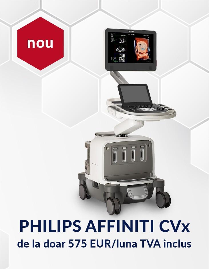 Ecograf Philips Affiniti CVx